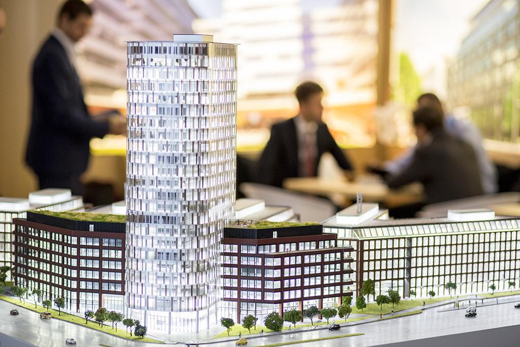 Architektur Exponat auf der EXPO REAL