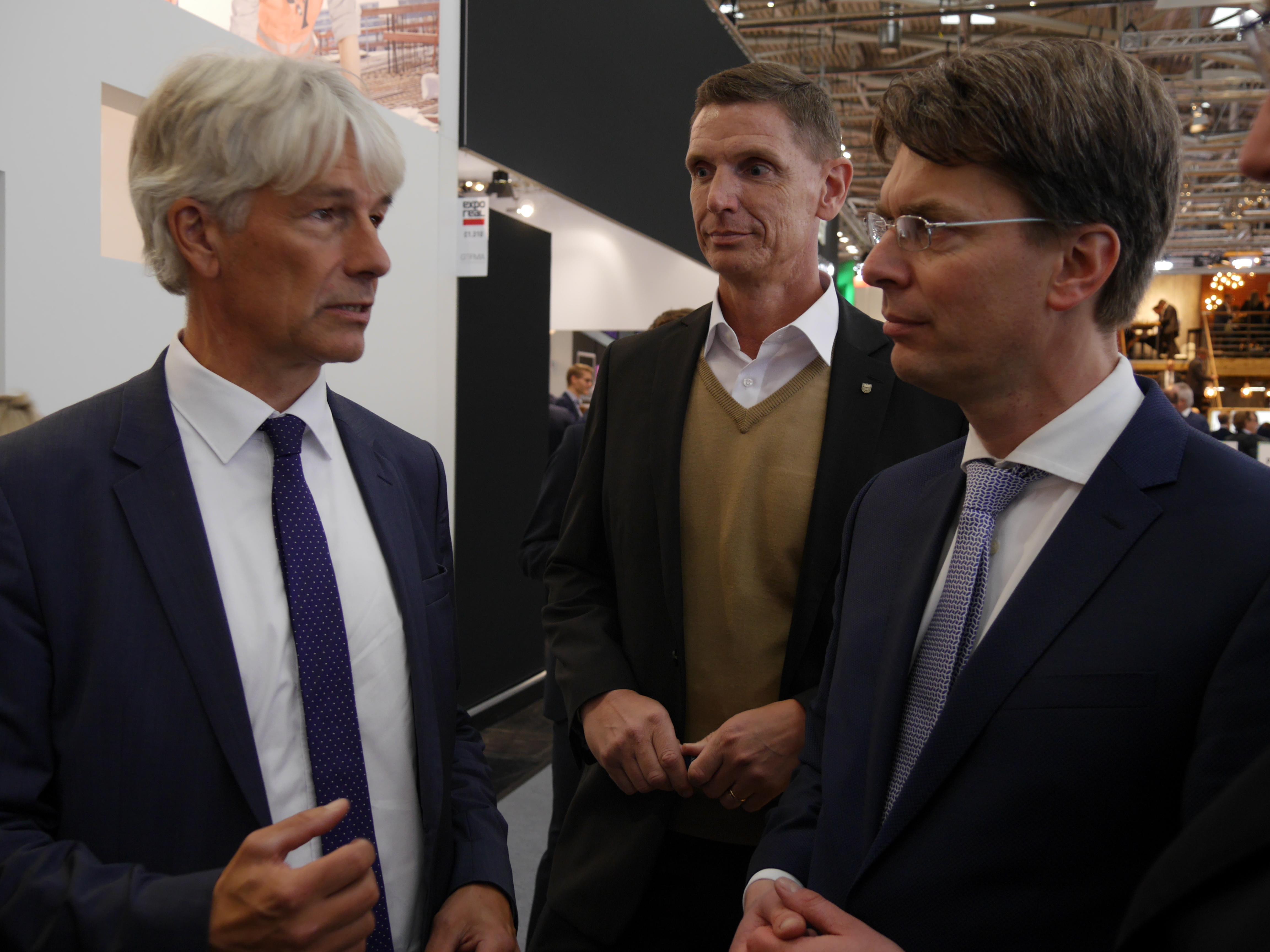 Region Hildesheim auf der EXPO REAL – Staatssekretär besucht Messestand