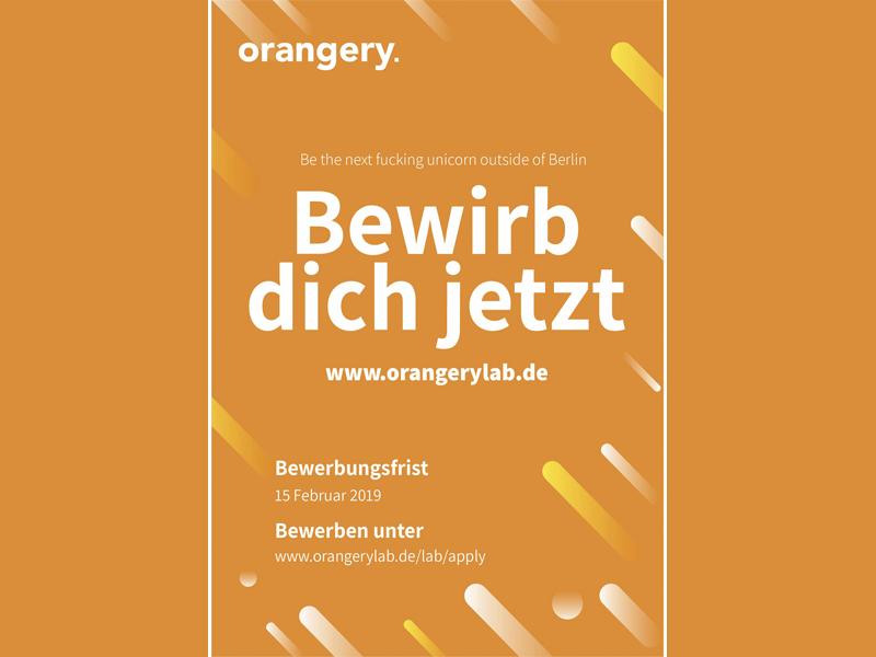 Start-ups & Gründer – Round 2019 im Orangerylab