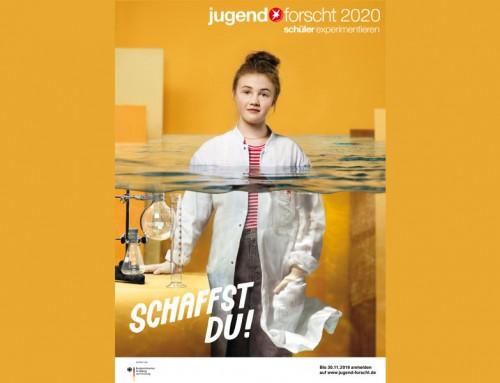 """Jugend forscht 2020 – """"Schaffst du!"""""""