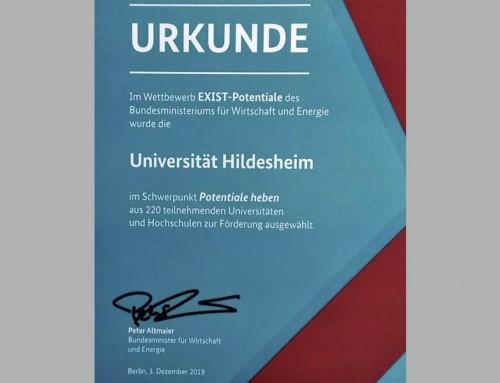 Uni Hildesheim wird EXIST-Gründerhochschule