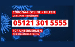 Corona Hotline Hildesheim 05121 301 5555
