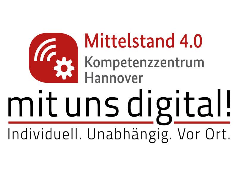 Mittelstand 4.0 Kompetenzzentrum Hannover Logo