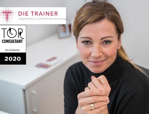 """DIE TRAINER haben die Auszeichnung """"TOP-Consultant"""" erhalten"""