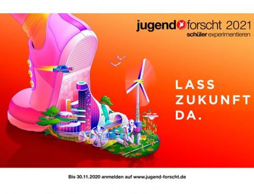 """Jugend forscht 2021 – """"Lass Zukunft da!"""""""