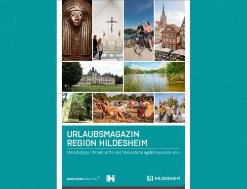 Hildesheim auf 48 Seiten: Das Urlaubsmagazin für 2021